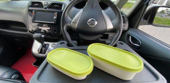 株式会社ジャストライト浪岡智がお送りする車内飲食のおはなしのイメージ画像