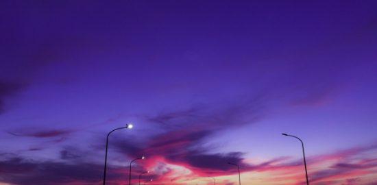 株式会社ジャストライト浪岡智がお送りする薄暮の時間のイメージ画像